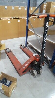 Used Rolatruck Pallet Pump Truck In Good Condition Local Collection Manchester