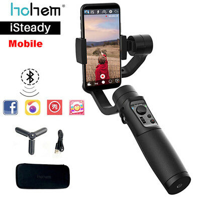 High iSteady Mobile Handheld Gimbal Stabilizer para iPhone X Samsung Smartphone
