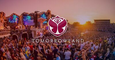 Tomorrowland Wk 1 - 2 Full Madness + accès Dreamville ((18-21/07/2019)