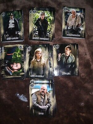 2018 Walking Dead Hunters & Hunted Huge Lot of 159 base cards great deal