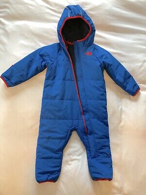b33f8d209 THE NORTH FACE Baby Bunting Snowsuit Fleece Toddler Pink Hoodie 18M ...