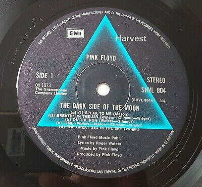 Pink Floyd Dark Side Of The Moon A 10-B 9 HTM NM/NM/NM