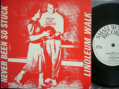 Nicky & The Dots – Never Been So Stuck  Orig. Uk 1St Press Small Wonder New Wave