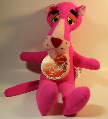 Vintage 1976 Pink Panther Plush Mirisch- Geoffrey Mighty Star with Tags