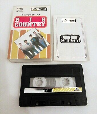 The Very Best Of Big Country Rare Unofficial Indonesia Cassette Team Records