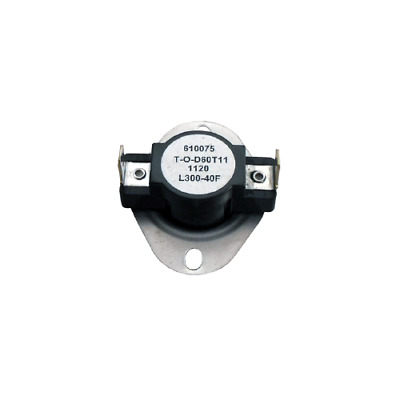 Supco L300 Limit Control Thermostat SPST Open 300 °F, Close 260 °F, 40° Dif