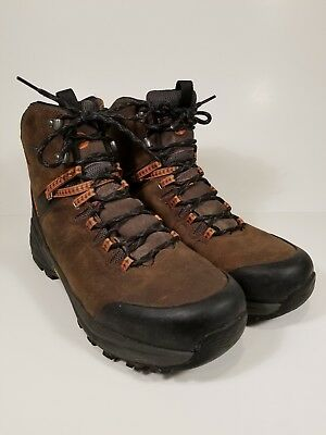 f5d68dccd62 MERRELL PHASERBOUND WATERPROOF Hiking Boots Brown Leather Mens sz 12