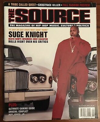 The Source Magazine Suge Knight Cover Septemeber 1996 Death Row Records