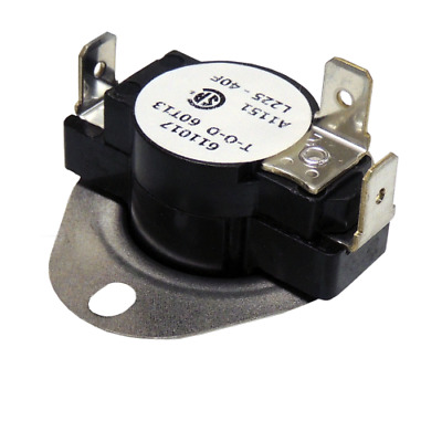 Supco LD225 Limit Control Thermostat SPDP Open 225 °F, Close 185 °F, 40° Dif