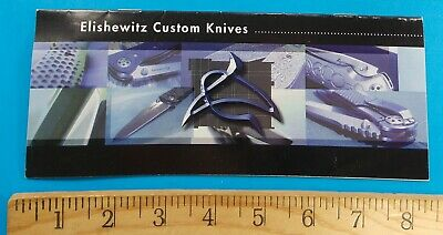 Elishewitz Custom Knives Brochure Rhett Stidham Estate