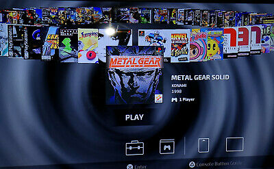 Playstation Classic Usb 50 + 20 Stock Games + nes and snes Games