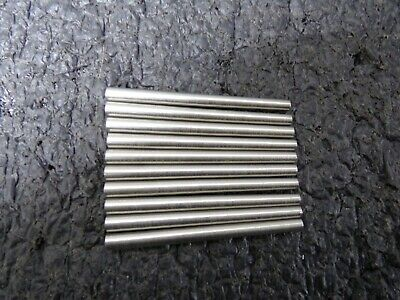 "Stainless Steel Standard Taper Pin, 2-1/4"" L, 0.146"" Small End Dia 10PK (RC)"