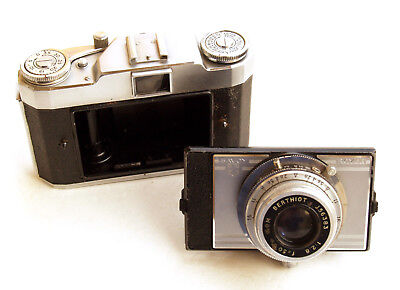 *c1957* ● Royer (SITO) Savoy II  SOM Berthiot 2,8 ● Dettachable front lens board
