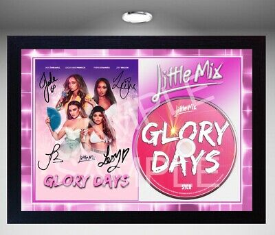 Little Mix Glory Days FRAMED reprint PHOTO CD Disc Perfect gift