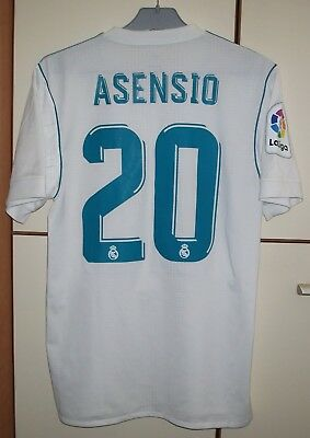 Real Madrid 2017 2018 Home Football Shirt Jersey Player Issue Adizero  Asensio fac9a5e33d74a