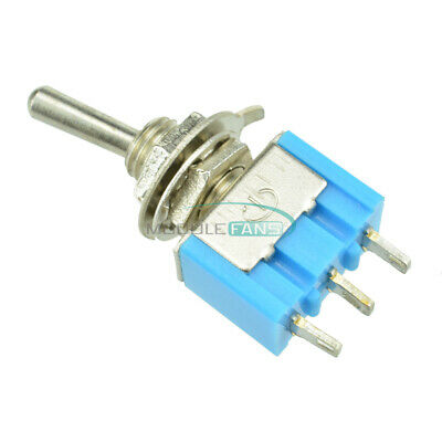 5PCS Mini SPDT MTS-102 3 Pin 2 Position On-on Toggle Switches Practic 6A 125VAC