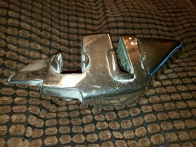 Mercedes W113 230SL 250SL 280SL Pagoda Right Chrome Cap B Pillar 1966 and up