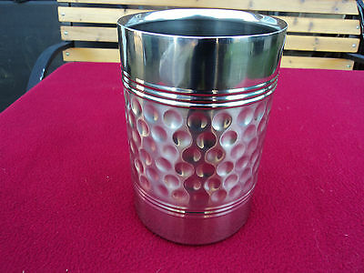 Deluxe Meteor Wine Cooler Duo Wall Stainless Steel Table Top Stunning Quality