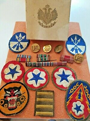 LOT OF 5 WW2 US Army Patches (B887 - $10 00 | PicClick