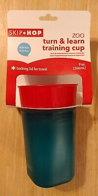 Skip Hop Zoo 9 Ounce Turn and Learn Training Cup - Owl