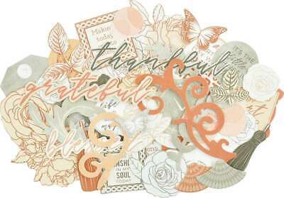 Kaisercraft Collectables Cardstock Die-Cuts Peachy 883416059479