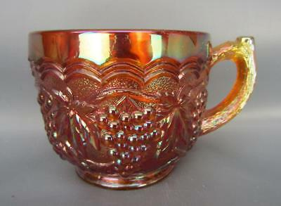 Imperial GRAPE Marigold Carnival Glass Unmarked Punch Cup 6130