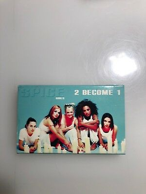 Spice Girls 2 Become 1 Cassette Single Tape One Of These Girls Pop Dance Party