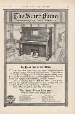1908 Star Piano Richmond Indiana Cottage Camp Eminently8194