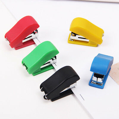 1Pc Useful Mini Stapler Stationery Set Paper Binding School Student Supplies