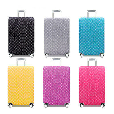 Colorful Elastic Luggage Suitcase Dust Cover Protector Anti Scratch 18 -32 inch