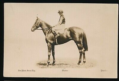 1922 & 1925  Caulfield Cup Horse racing Postcard Whittier Don Photo Card Series