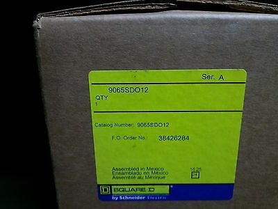 Square D 9065Sdo12 Size 3 Overload New In Factory Sealed Box