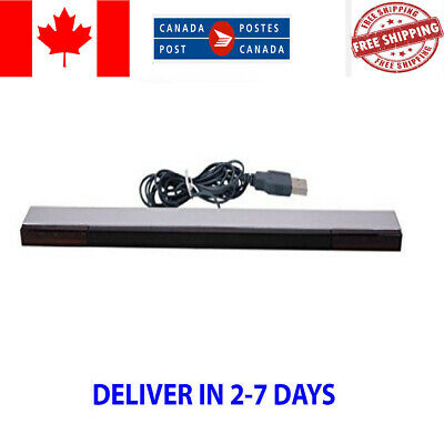 Wired Remote Sensor Bar Infrared Ray Inductor For Nintendo Wii Controller New