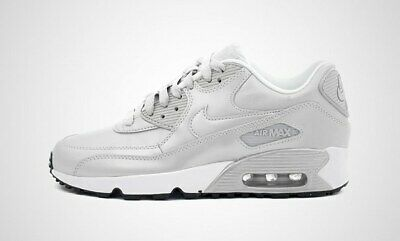 33ee0bd3d4 New Nike Air Max 90 SE LTR Size 5Y (GS) Running Shoes Pure Platinum