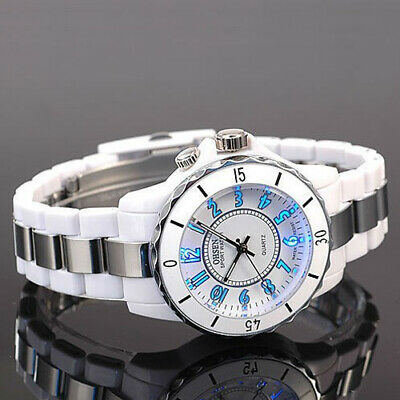 OHSEN Fashion New Men Womens LED Backlight Quartz Wrist Sport Watch Waterproof