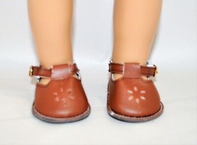 Our Generation American Girl Doll 18 Inch Dolls Clothes Brown T-Bars Doll Shoes