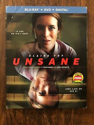 Unsane Blu Ray Dvd 2 Disc Set + Slipcover Sleeve -Free Shipping-