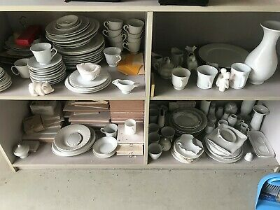 Bulk Lot Blank White Porcelain For China Painting. Many various pieces
