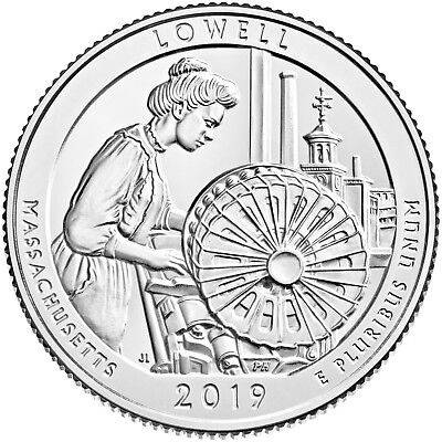 2019 Lowell National Historical Park (Massechusettes) P,d & S Set **in Stock**