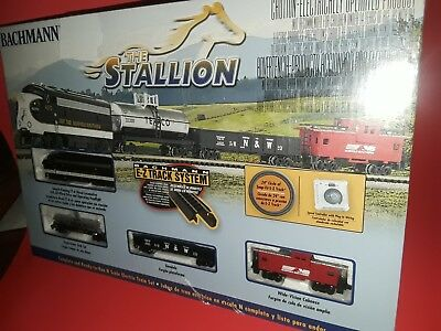 Bachmann Stallion E-Z Track System Ready To Run Electric Train Set~Brand New~