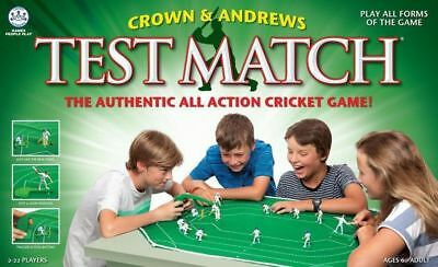 Genuine, New Crown & Andrews TEST MATCH board game RRP$59.95 - 3 POSTAGE OPTIONS