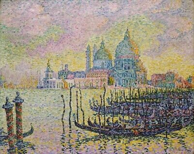 Grand Canal Venice Poster Print by  Paul Signac (24 x 36)