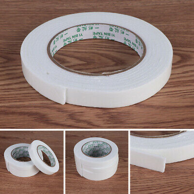 3 Rolls Super Double Faced Adhesive Tape Foam Double Sided Tape Self Adhesive