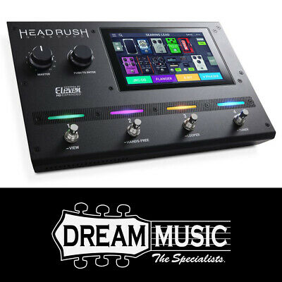 HeadRush Gigboard Compact Modelling Effects Pedalboard SAVE $150 off RRP$1249