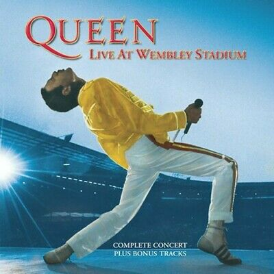 Queen - Live At Wembley Stadium (CD Used Very Good) Remastered