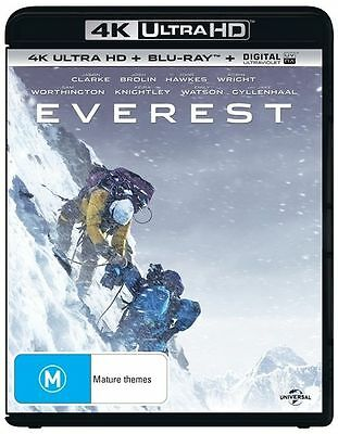 Everest 4K Ultra HD : NEW UHD Blu-Ray