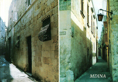 Malta  -  Mdina - Quiet streets in the old town