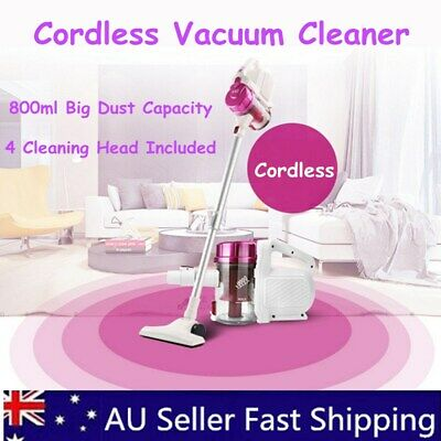 Cordless Stick Vacuum Cleaners Rechargeable Handheld Home Car Cleaning Sweepers