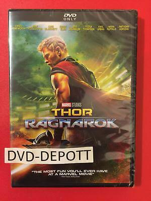 Thor: Ragnarok (DVD, 2018) {{{{{{{{AUTHENTIC READ}}}}}}} New FAST Free Shipping