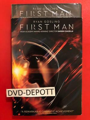 First Man DVD *AUTHENTIC DVD READ* Brand New FAST Free Shipping With Tracking